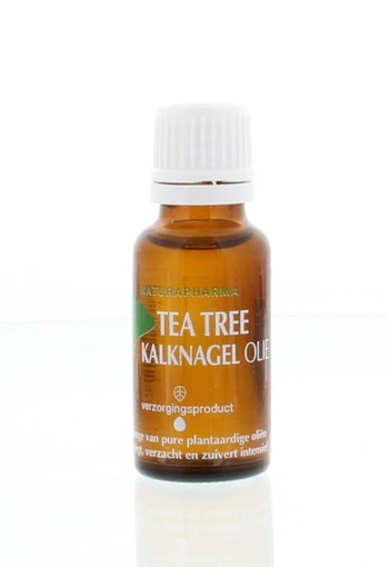 Naturapharma Tea tree kalknagel olie (20 ml)