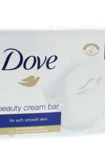 Dove Beauty cream bar regular 4 x 100 gram (1 stuks)
