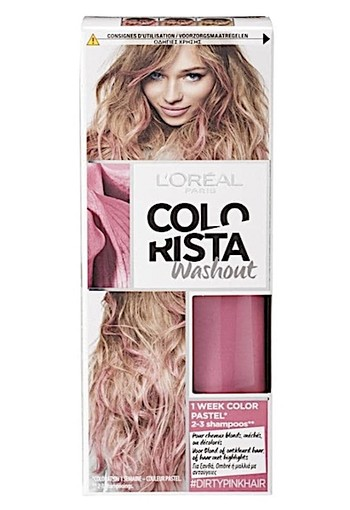 L'Oréal Paris Colorista Washout Dirty Pink Hair Haarkleuring