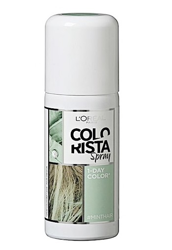 L'Oréal Paris Colorista Spray Minthair Haarkleuring