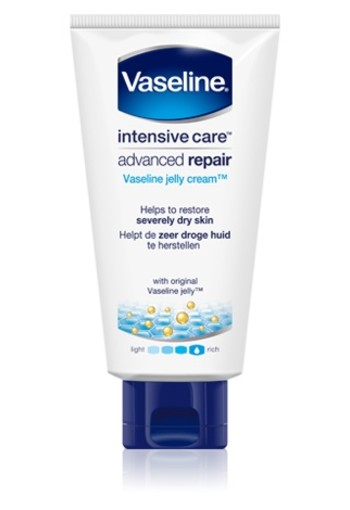 VASELINE ADVANCED REPAIR JELLY CREAM 130 ML