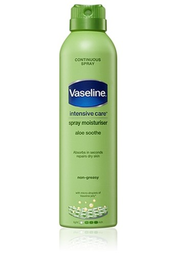 VASELINE ALOE SOOTHE BODYLOTION SPRAY 190ML