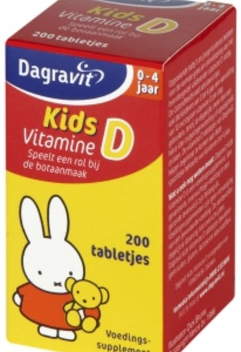 Dagravit Vitamine D Tablet Kids 200st