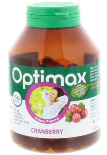 Optimax Cranberry (150ca)