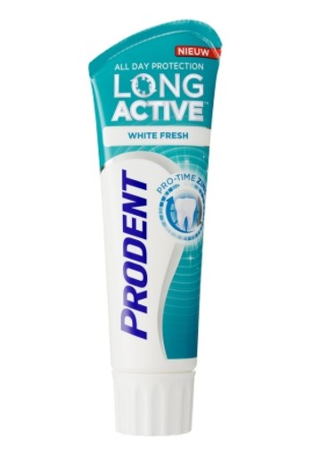 Prodent Tandpasta Long Active White Fresh