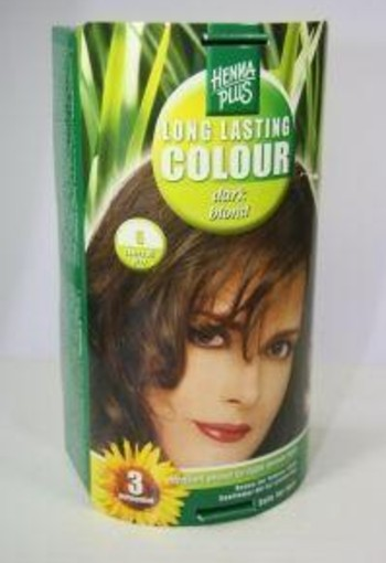 Henna Plus Long lasting colour 6 dark blond (100 ml)