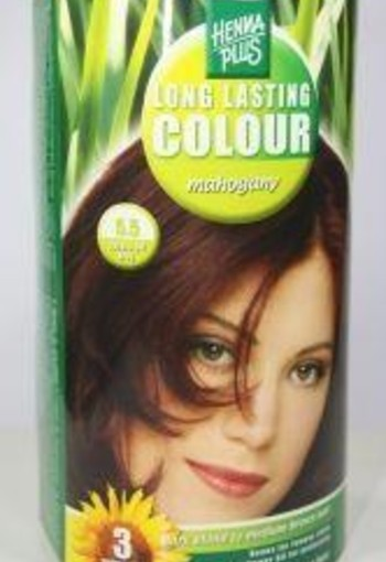 Henna Plus Long lasting colour 5.5 mahogany (100 ml)