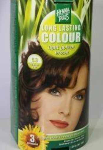 Henna Plus Long lasting colour 5.3 golden brown (100 ml)