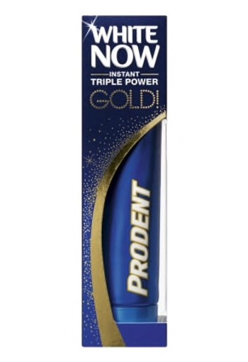 Prodent Tandpasta White Now Gold