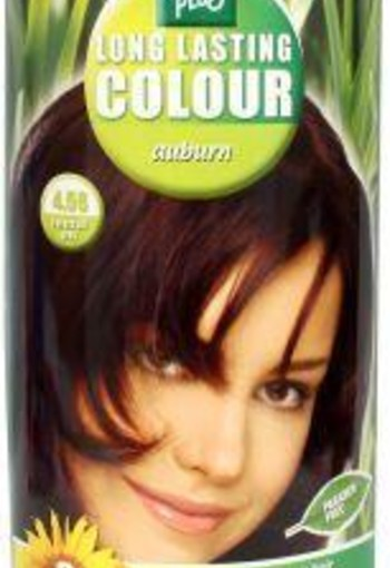 Henna Plus Long lasting colour 4.56 auburn (100 ml)
