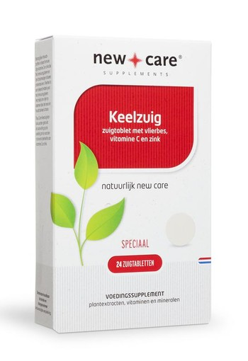 New Care Keelzuig (24 zuigtabletten)