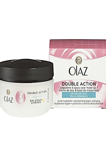 Olaz Essential Care Double Action Gevoelige Huid 50ml