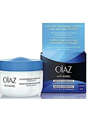 Olaz Anti-rimpel Instant Hydration Nachtcreme 50ml