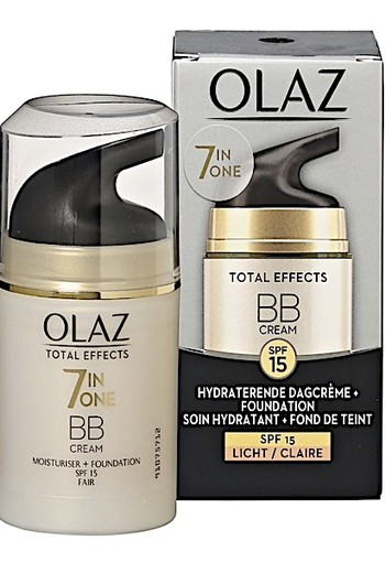 Olaz Total Effects 7in1 BB Cream Dagcrème + Vleugje Foundation