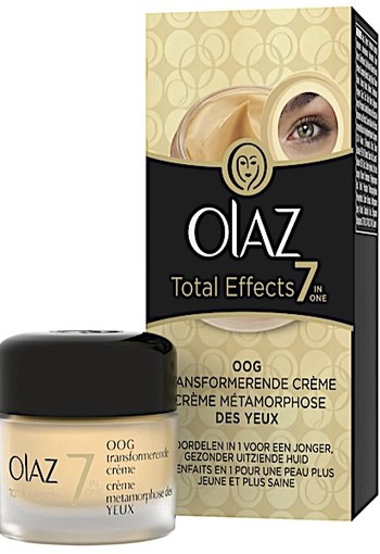 Olaz Total Effects 7-in - 15 ml - Trannsformerende Oogcrème