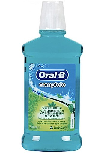 Oral-B Mondwater Complete oral b 500 ml