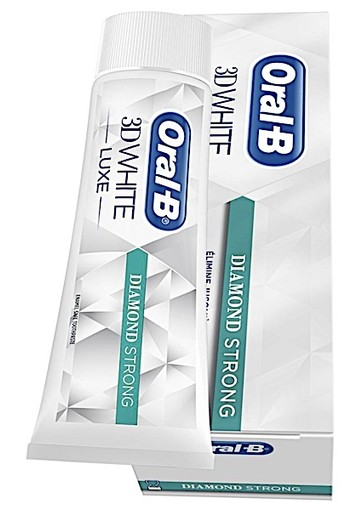 Oral-B Tandpasta 3DWhite Luxe Diamond oral b Strong 75 ml