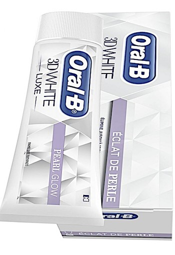 Oral-B Tandpasta 3DWhite Luxe Parelglans oral b 75 ml