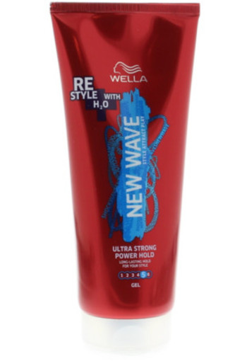 New Wave Power Hold Gel Ultra Strong 200ml