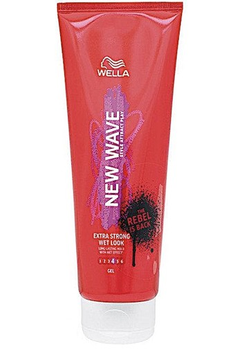 Wella New Wave Wet Look Extra Strong - 200ml - Haargel