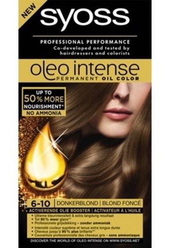 Syoss Color Oleo 6.10 Donker Blond 1set
