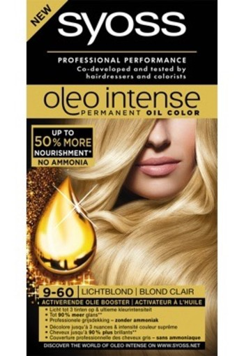Syoss Color Oleo 9.60 Licht Blond 1set