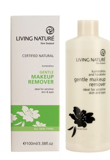 Living Nature Oog makeup remover (100 ml)