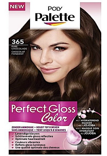 Schwarzkopf Poly Palette Perfect Gloss 365 Pure Chocolade Haarkleuring