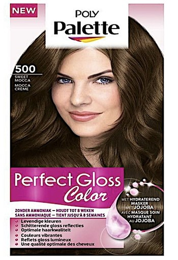 Schwarzkopf Poly Palette Perfect Gloss 500 Sweet Mocca Haarkleuring