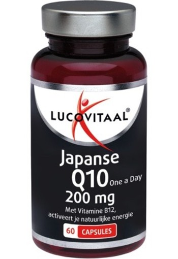 Lucovitaal Q10 200 Mg Japans 60ca