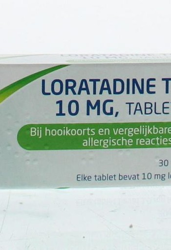 Pharmachemie Loratadine 10 mg (30 tabletten)