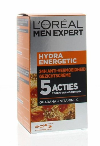 Loreal Men expert hydra energetic anti vermoeidheid creme (50 ml)