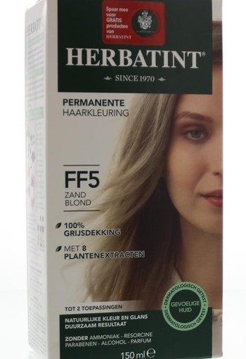 Herbatint Flash Fashion 5 sand blonde (140 ml)