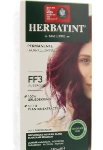Herbatint Flash Fashion 3 plum/ aubergine (140 ml)