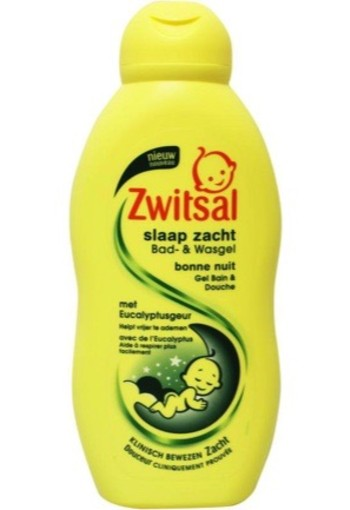 Zwitsal Bad & Wasgel Eucalyptus 200ml