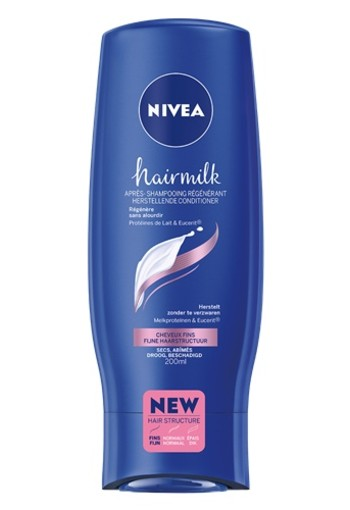 NIVEA HAIRMILK CONDITIONER FIJN HAAR Haarverzorging 200ML