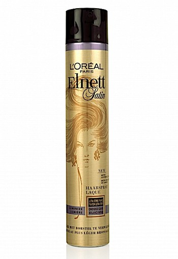 LOREAL PARIS ELNETT SATIN LUMIER HAARSPRAY ULTRASTRONG 400 ML