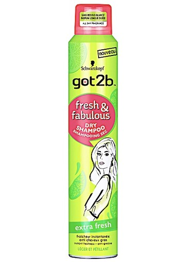 Got2b Droogshampoo Extra Fresh 200ML