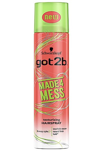 Got2b Hairspray Made4mess 275 ml