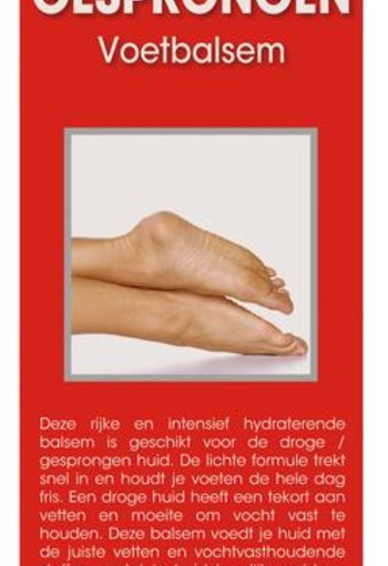 Dr Fix Droge en gesprongen voetbalsem (100 ml)