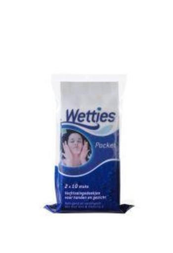 Wetties Wetties pocket (20 stuks)