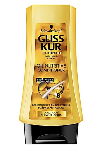 Gliss Kur Conditioner Oil Nutritive 200 ML