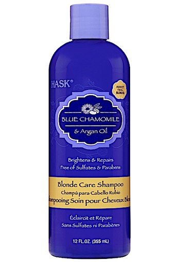 Hask Blue Chamomile & Argan Oil Blonde Care Shampoo 335 ML