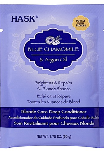 Hask Blue Chamomile & Argan Oil Blonde Care Deep Conditioner 50 gr.