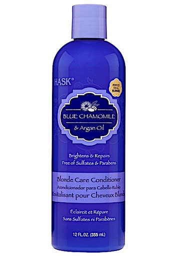 Hask Blue Chamomile & Argan Oil Blonde Care Conditioner 335 mL