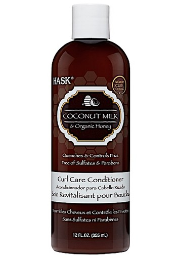Hask Coconut Milk & Organic Honey Curl Care Conditioner 335 mL