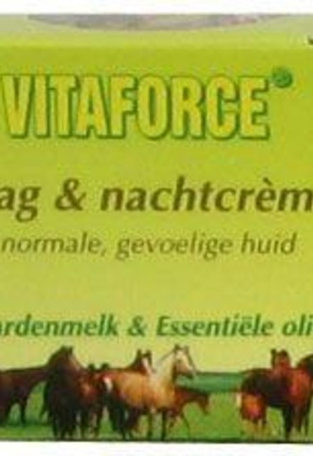 Vitaforce Paardenmelk dag / nachtcreme (50 ml)