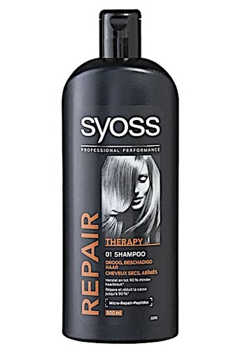 Syoss Repair Therapy Shampoo 500ml