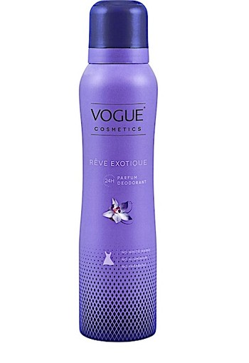 VOGUE Cosmetics Reve Exotique Parfum Deodorant 150 ml