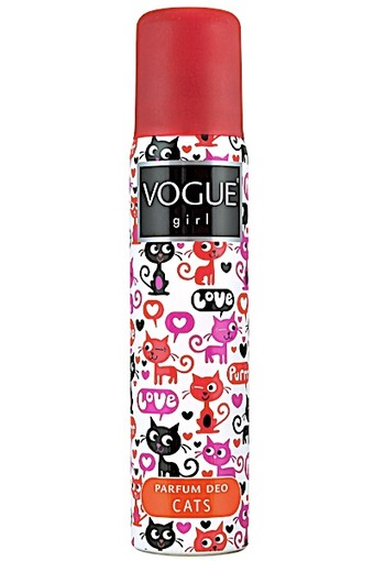 Vogue Girl Cats - 100 ml - Deodorant